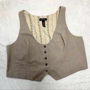 LANE BRYANT Suit Vest Size 24